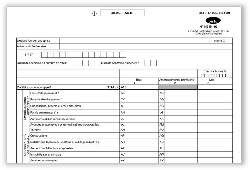 Savez-vous comment est constituée votre liasse fiscale ? - MasterFEC
